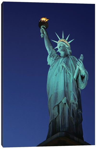 1990s Statue Of Liberty New York City New York USA Canvas Art Print