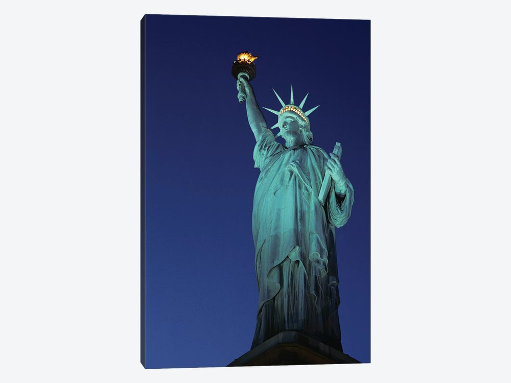1990s Statue Of Liberty New York City New York USA by Vintage Images 1-piece Canvas Wall Art