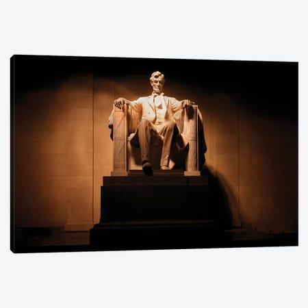 President Lincoln Memorial Statue Washington DC Canvas Print #VTG715} by Vintage Images Canvas Art Print