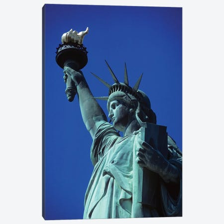 Statue Of Liberty New York NY Canvas Print #VTG717} by Vintage Images Canvas Art Print
