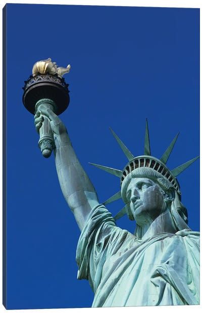 Statue Of Liberty New York NY Canvas Art Print