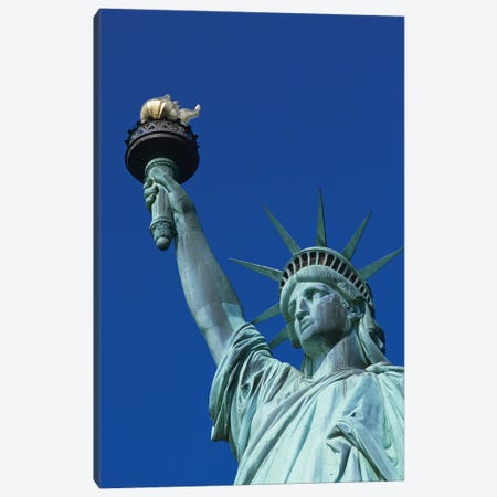 Statue Of Liberty New York NY Canvas Print #VTG718} by Vintage Images Canvas Art