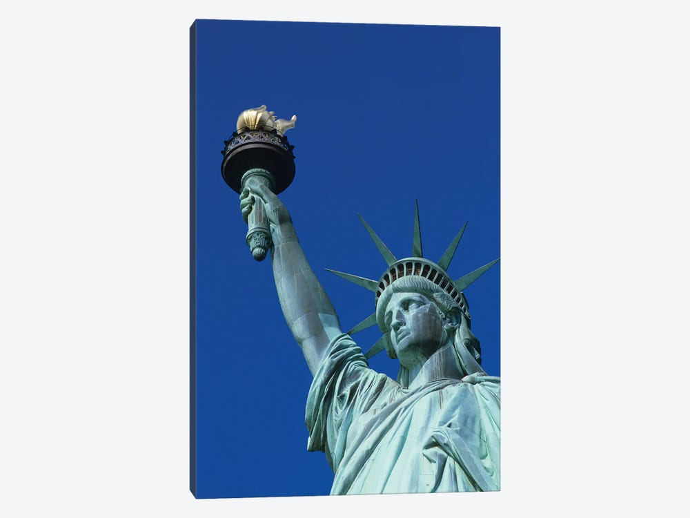 Statue Of Liberty New York NY by Vintage Images 1-piece Canvas Artwork
