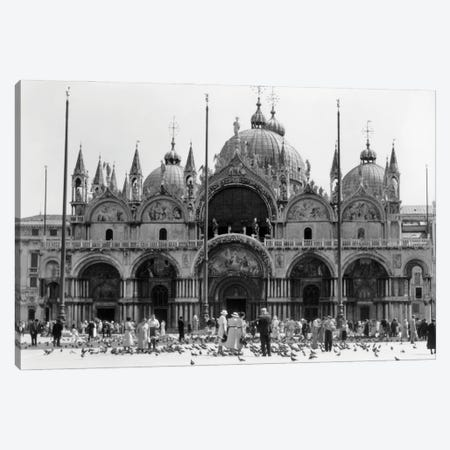 1920s 1930s St. Mark'S Cathedral Piazza San Marco Venice Italy Canvas Print #VTG738} by Vintage Images Canvas Art
