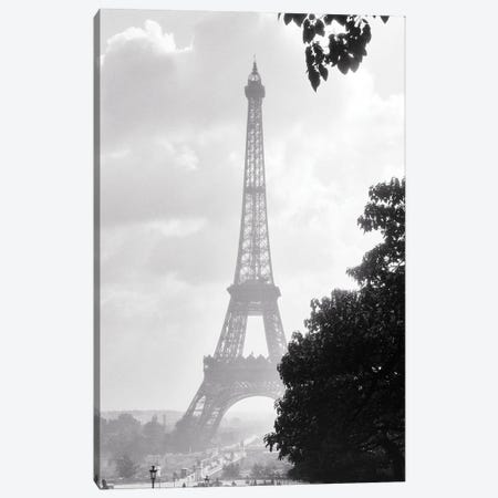 1920s Eiffel Tower Was The Entrance To The 1889 World'S Fair Paris France Canvas Print #VTG743} by Vintage Images Canvas Print