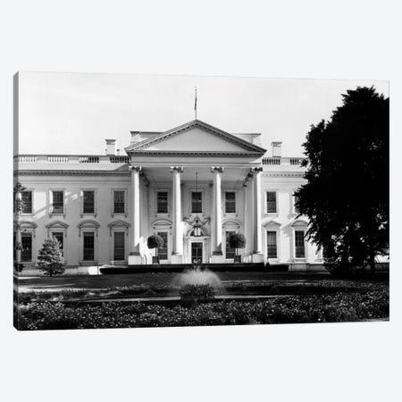 1920s-1930s The White House Washington Dc USA 3-Piece Canvas #VTG75} by Vintage Images Canvas Artwork
