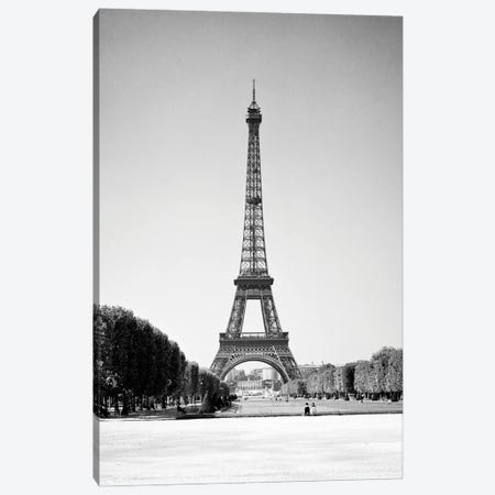 1960s Eiffel Tower Wrought Iron Lattice Structure In The Champ De Mars Built In The 1880s As Entrance To The 1889 World'S Fair Canvas Print #VTG816} by Vintage Images Canvas Art