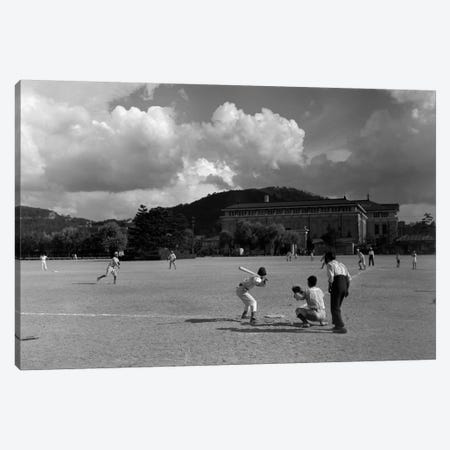 1930s American Sport Baseball Game Being Played In Kyoto Japan Canvas Print #VTG81} by Vintage Images Canvas Artwork
