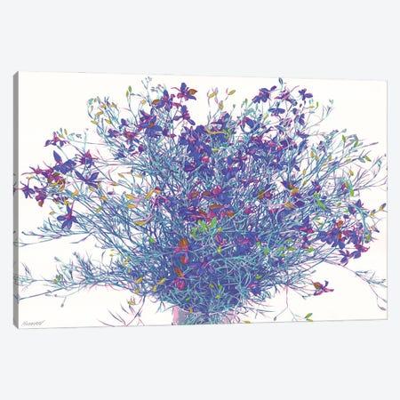 Wildflowers Canvas Print #VTK112} by Vitali Komarov Canvas Art