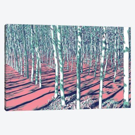 Young Linden Forest Canvas Print #VTK116} by Vitali Komarov Art Print