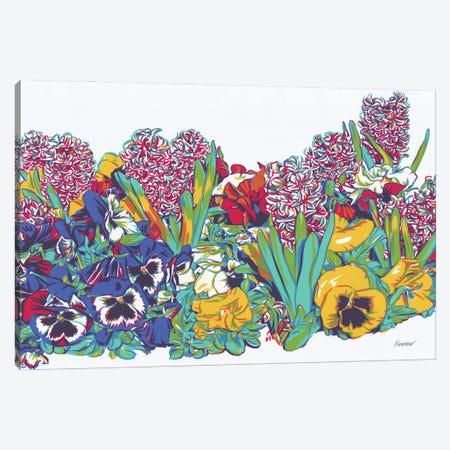 Spring Flowers Canvas Print #VTK118} by Vitali Komarov Canvas Artwork