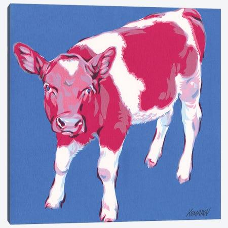 Colorful Calf Canvas Print #VTK11} by Vitali Komarov Art Print