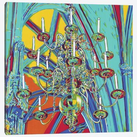 Chandelier In A Cathedral Canvas Print #VTK123} by Vitali Komarov Art Print