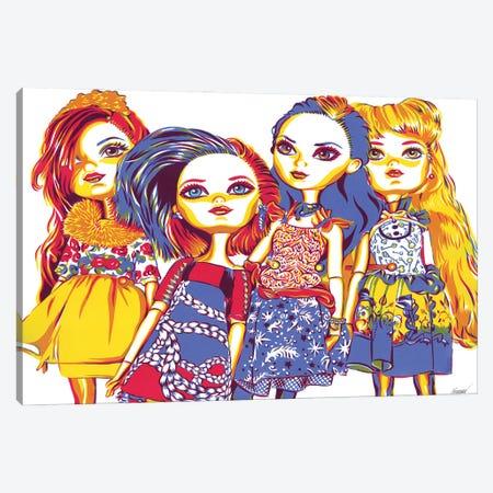 Barbie Dolls Canvas Print #VTK128} by Vitali Komarov Art Print