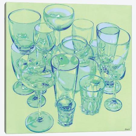 Glasses Canvas Print #VTK131} by Vitali Komarov Canvas Art