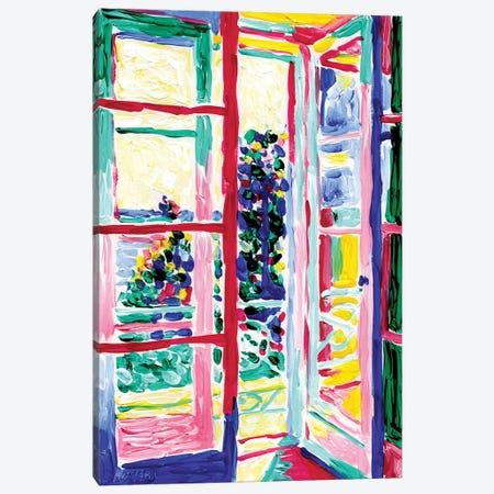 View From The Balcony Canvas Print #VTK135} by Vitali Komarov Canvas Print