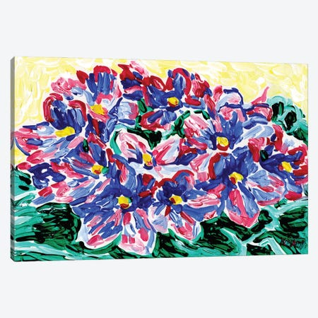Violet Canvas Print #VTK136} by Vitali Komarov Canvas Art Print