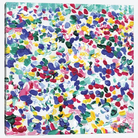 Flower Bed Canvas Print #VTK142} by Vitali Komarov Canvas Art Print