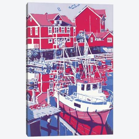 Sea Boat Canvas Print #VTK156} by Vitali Komarov Canvas Print