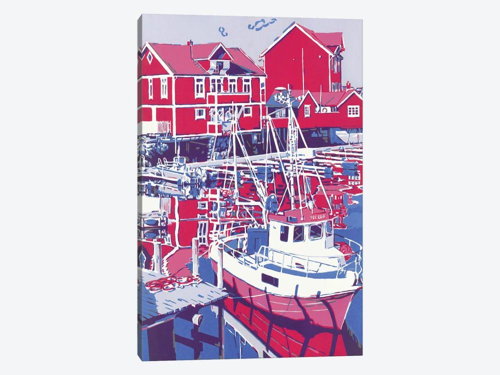 Sea Boat by Vitali Komarov 1-piece Canvas Print
