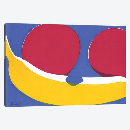 Apples And Banana Canvas Print #VTK15} by Vitali Komarov Canvas Art