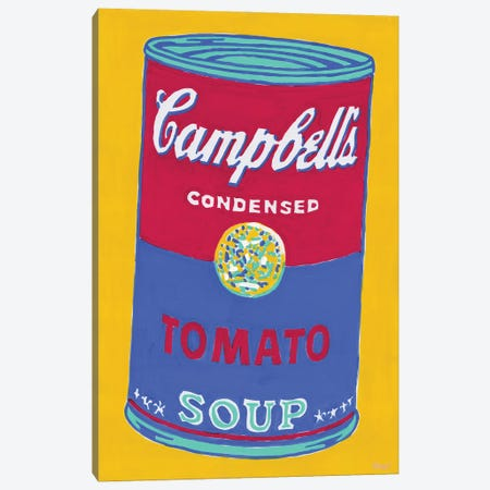 Campbell'S Soup Can Canvas Print #VTK167} by Vitali Komarov Canvas Artwork