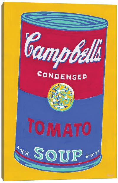 Campbell'S Soup Can Canvas Art Print