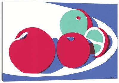 Still Life With Fruits Canvas Art Print