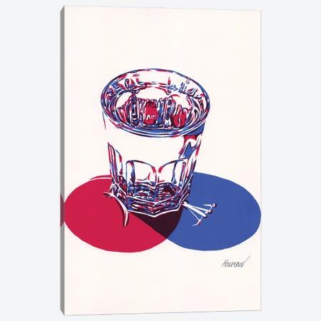 Glass Of Water Canvas Print #VTK17} by Vitali Komarov Canvas Art
