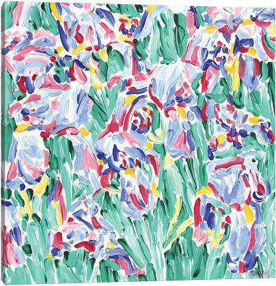 Colorful Flowers Canvas Art Print