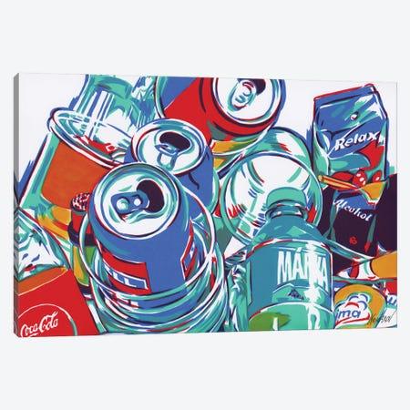 Rubbish After Party Canvas Print #VTK1} by Vitali Komarov Art Print