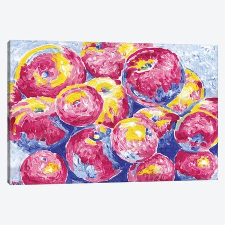 Red Apples Canvas Print #VTK203} by Vitali Komarov Canvas Art