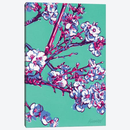 Blossoming Apple Tree Canvas Print #VTK213} by Vitali Komarov Art Print