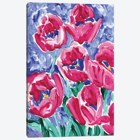 Tulips Canvas Print #VTK217} by Vitali Komarov Canvas Wall Art