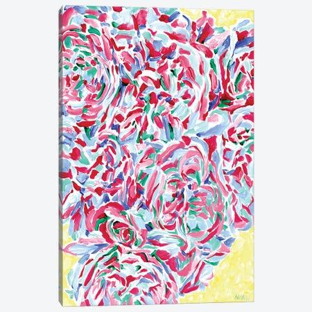 Rose Flower Still Life Canvas Print #VTK226} by Vitali Komarov Canvas Print