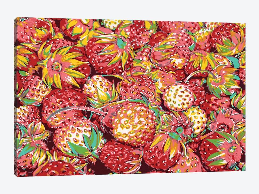 Wild Strawberries by Vitali Komarov 1-piece Canvas Wall Art