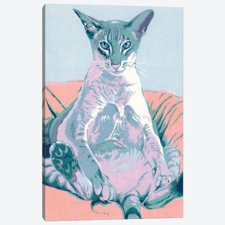 Siamese Cat Canvas Print #VTK34} by Vitali Komarov Canvas Wall Art