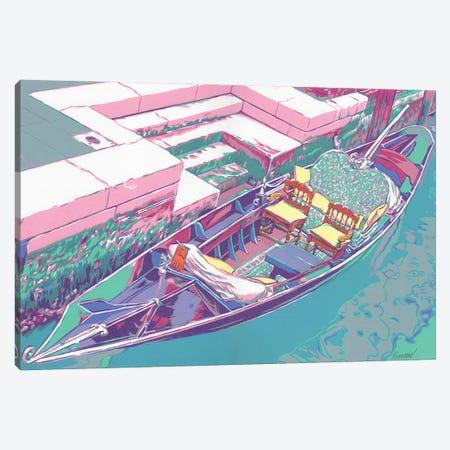 Venetian Gondola Canvas Print #VTK41} by Vitali Komarov Canvas Wall Art