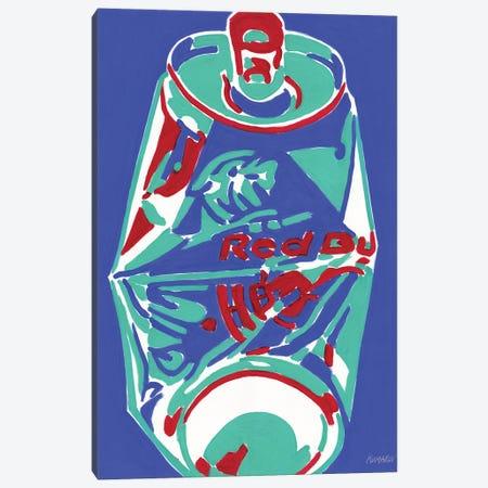 Crashed Red Bull Still Life Canvas Print #VTK51} by Vitali Komarov Canvas Art Print