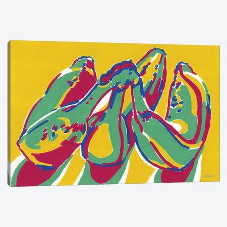 Ripe Bananas Canvas Print #VTK53} by Vitali Komarov Canvas Print