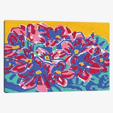 African Violet Canvas Print #VTK54} by Vitali Komarov Canvas Artwork