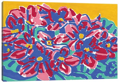 African Violet Canvas Art Print