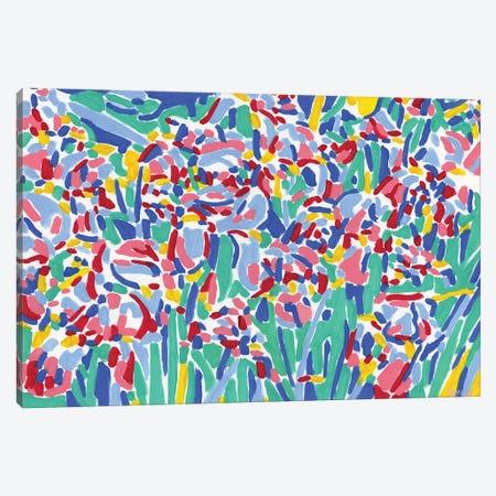 Iris Field Canvas Print #VTK56} by Vitali Komarov Canvas Wall Art