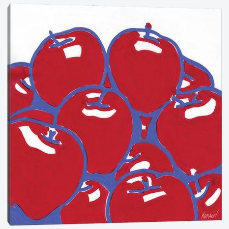 Apple Still Life Canvas Print #VTK59} by Vitali Komarov Art Print
