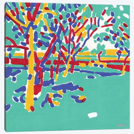 Fruit Garden Canvas Print #VTK63} by Vitali Komarov Canvas Art