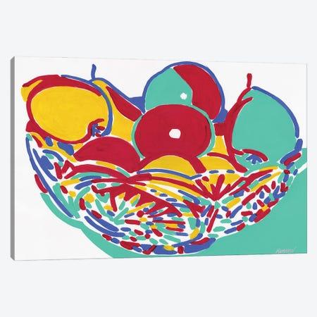 Fruit Vase Canvas Print #VTK67} by Vitali Komarov Art Print