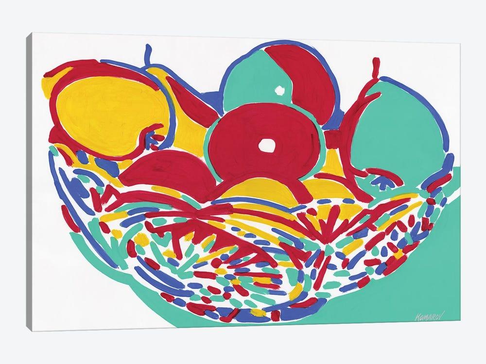 Fruit Vase by Vitali Komarov 1-piece Canvas Print