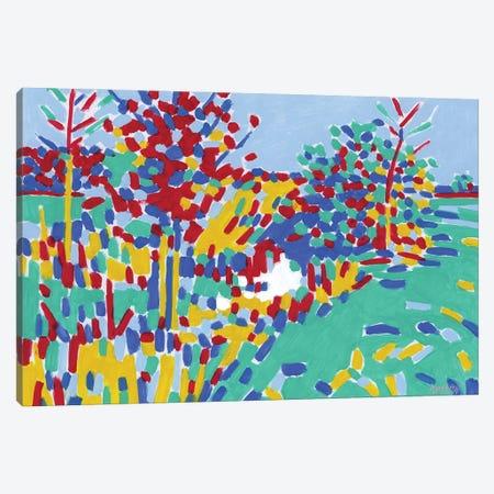 Landscape With A River Canvas Print #VTK79} by Vitali Komarov Canvas Print