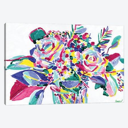 Rose Bouquet Canvas Print #VTK90} by Vitali Komarov Canvas Print