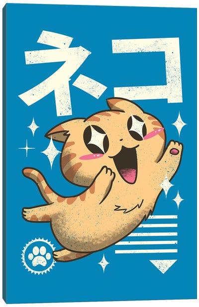Kawaii Feline Canvas Art Print